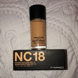 MAC NC 18 Foundation.